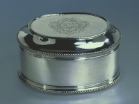 A Dutch silver toilet-box